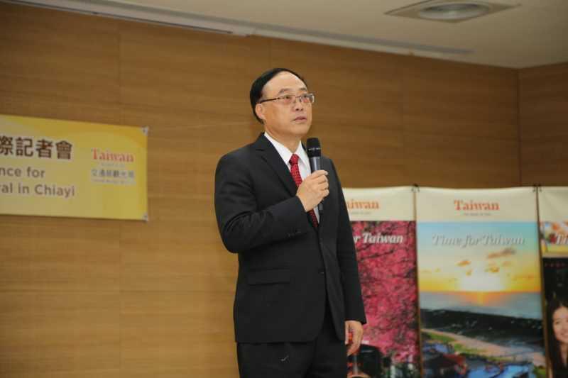 交通部觀光局長周永暉表示,台灣燈會受國際媒體讚譽為沒有雲霄飛車的迪士尼樂園!(嘉義縣政府提供)