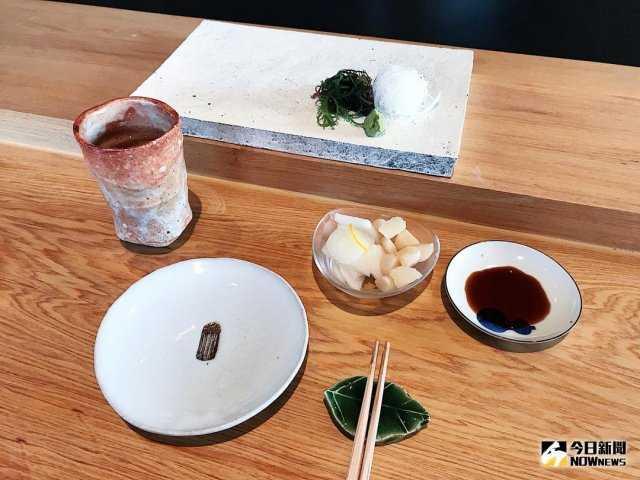▲「晴山」對於器皿十分講究,皆為日本京都手做師傅製成。(圖/記者賴詠璿攝)