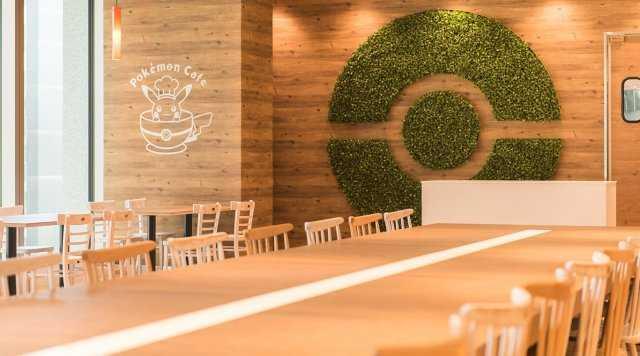 ▲官方「寶可夢咖啡廳」內部。(圖/翻攝自官網)