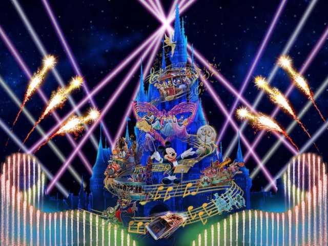 ▲晚間的重頭戲「 Celebrate! Tokyo Disneyland 」 7 月 10 日登場。(圖/tokyodisneyresort.jp)