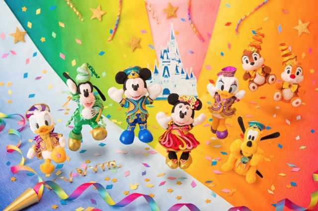 ▲米奇等迪士尼明星成為代表性的商品圖案。(圖/tokyodisneyresort.jp)