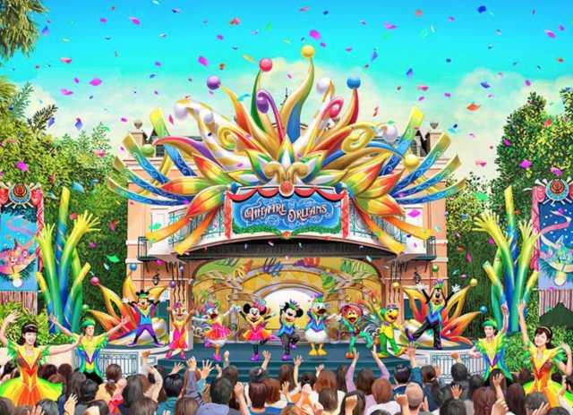 ▲樂園中的紐奧良劇場,將融入周年慶主題曲,帶來期間限定的歌舞秀。(圖/tokyodisneyresort.jp)