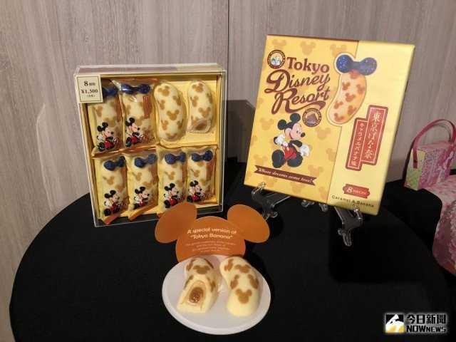 ▲迪士尼與東京芭奈奈聯名推出商品,是樂園相當具人氣的伴手禮。(圖/記者陳致宇攝 , 2018.03.08)