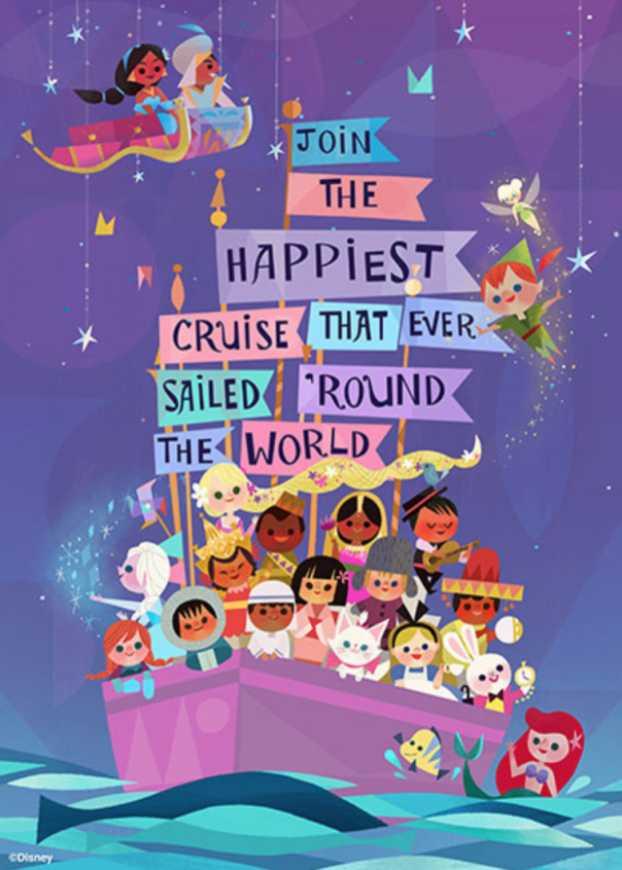 ▲東京迪士尼樂園經典設施「小小世界」,在 35 周年慶之際首度翻新。(圖/tokyodisneyresort.jp)