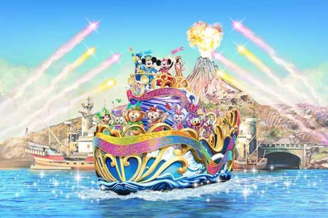 ▲東京迪士尼海洋同樣也有全新表演節目。(圖/tokyodisneyresort.jp)