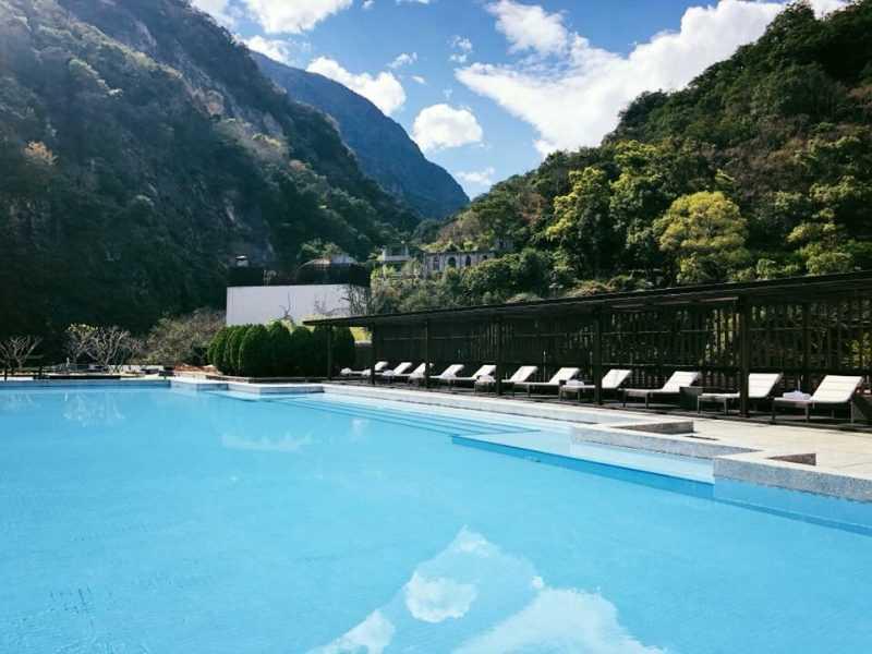2018年台灣區十大夢幻渡假酒店,第二名是坐擁太魯閣峽谷風光的太魯閣晶英酒店。