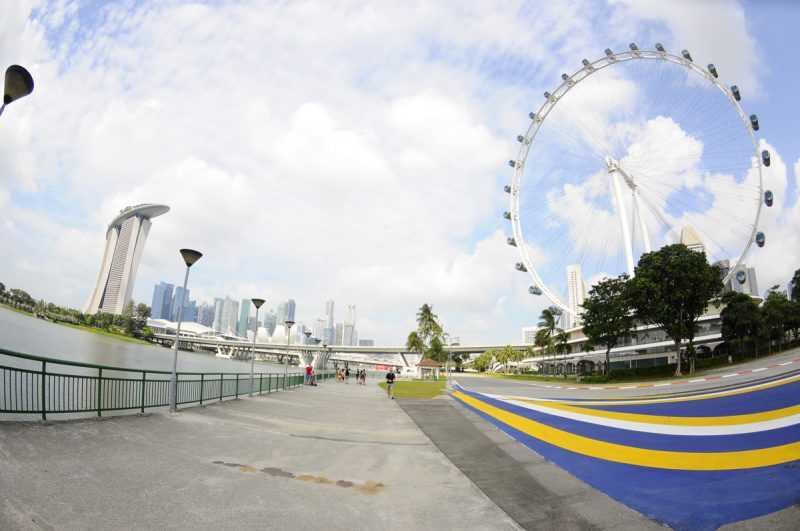 ▲騎單車也能請導遊,看見不同的新加坡。(特派記者杜明賢攝)