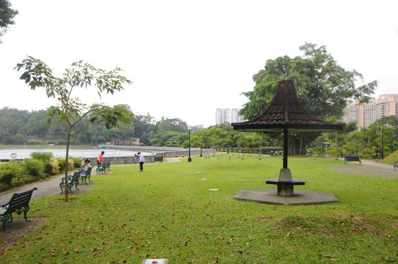 ▲麥里芝蓄水池公園如今的名字是紀念1922年負責蓄水池擴建改造工作的市政工程師麥里芝(James MacRitchie)而命名。(特派記者杜明賢攝)