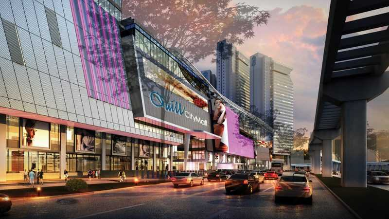 桂和購物廣場是一個大型的綜合購物中心,包含餐飲和娛樂服務等。(馬來西亞觀光局)