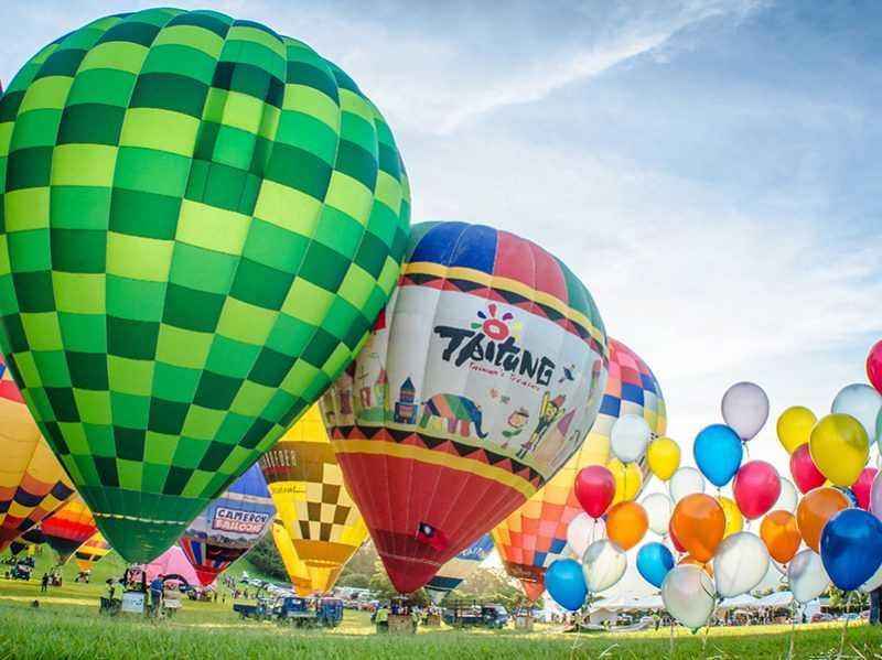 台東熱氣球嘉年華搶先卡位(圖片來源:臺東縣政府,易遊網提供)