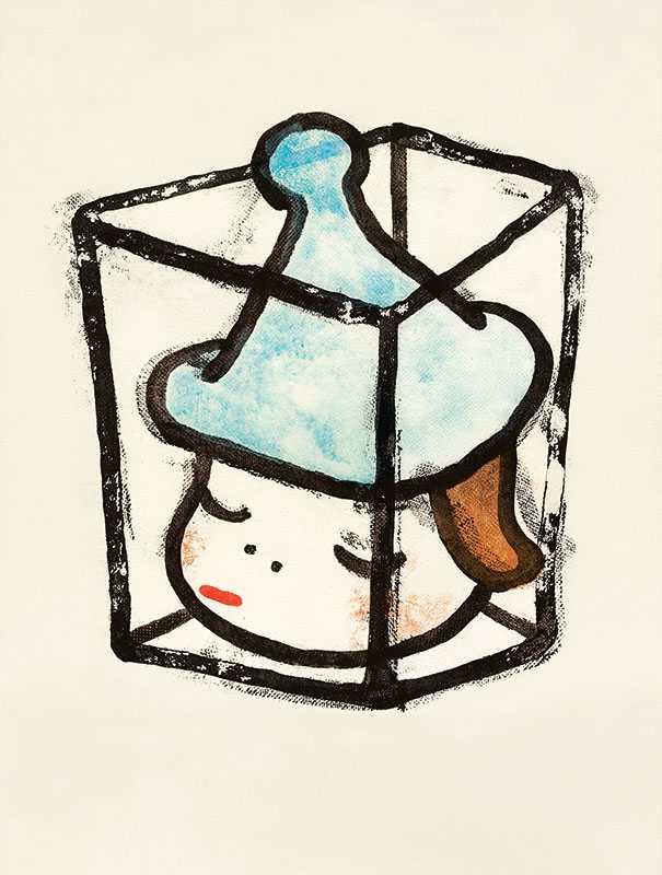 奈良美智《音樂盒》(公關圖片)