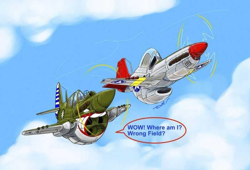 航空漫畫類(葉大銘)