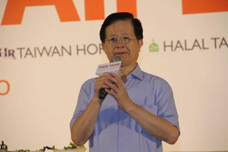 「探索食安、食在心安」活動由臺北市政府衛生局局長黃世傑代表柯市長主持。
