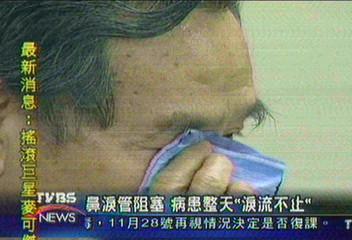 鼻淚管阻塞 病患整天「淚流不止」