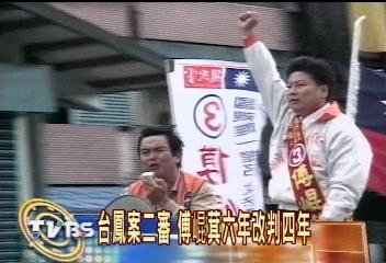 台鳳案二審 立委傅崑萁改判4年