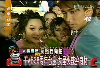 TVB38週年台慶 女星火辣拼身材