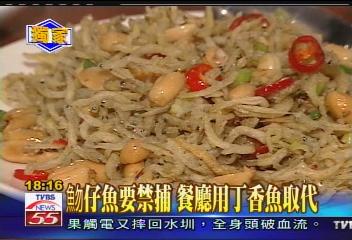 〈獨家〉魩仔魚要禁捕 餐廳用丁香魚取代
