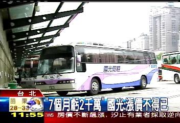 票價漲! 國光台北-新營漲幅近3成