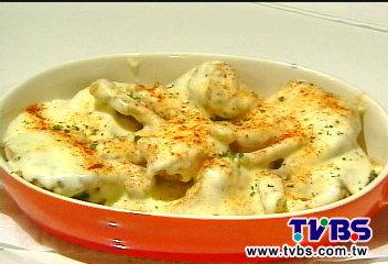 鹹香奶醬佐螃蟹 進烤爐香甜升級