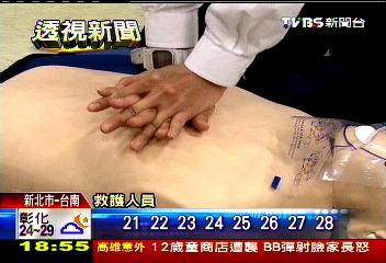 救命CPR!按30下吹2口氣 頭部須後仰