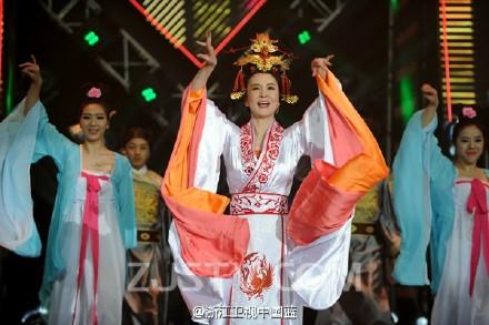 劉雪華上真人秀 扮武媚娘搞笑逗觀眾