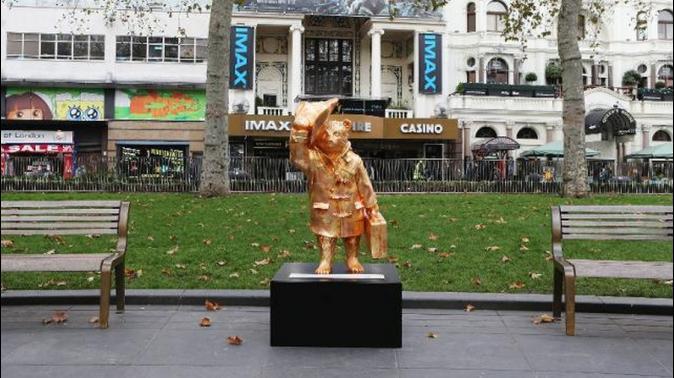 尋熊之旅!50隻柏靈頓小熊 進駐倫敦各大景點