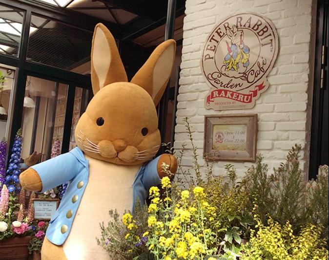 兔兔迷別錯過 比得兔花園咖啡廳開張