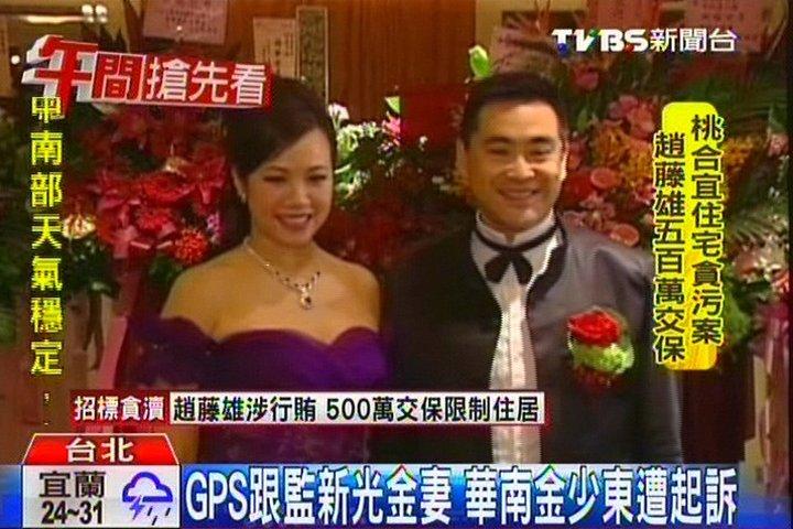 GPS跟監新光金妻 華南金少東遭起訴