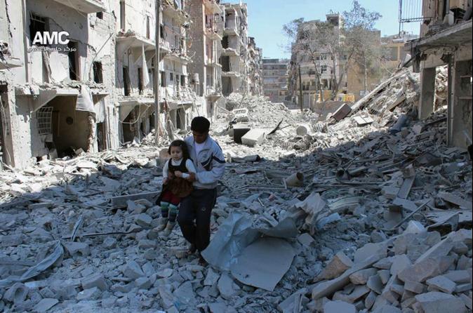 孩童睡夢中炸死 敘國內戰4年奪22萬命