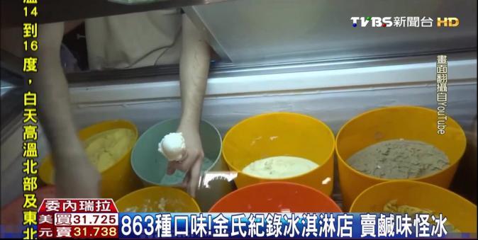 牛奶短缺! 委內瑞拉金氏紀錄冰店
