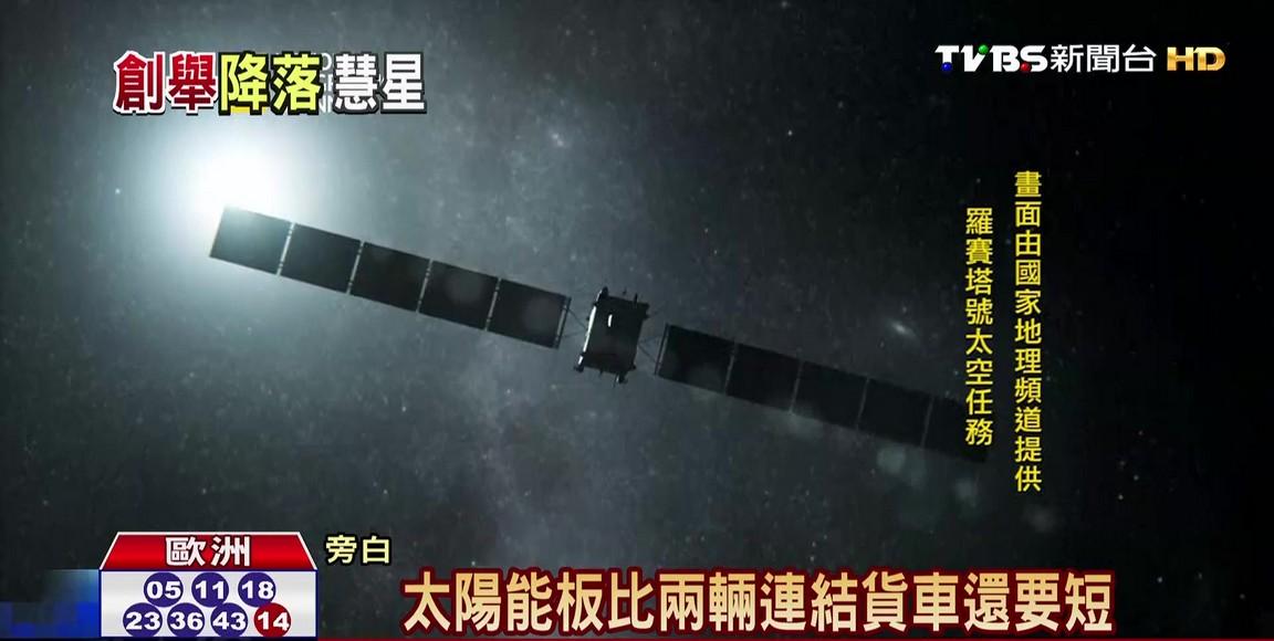 人類史上第一次! 探測船週三拚登陸彗星