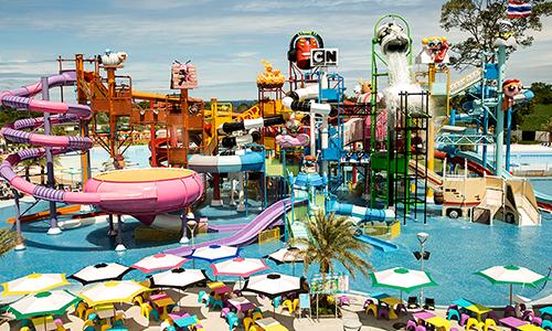 芭達雅全球首座卡通水上樂園 跟著老皮一起玩!