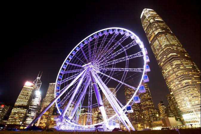 香港中環新地標! 盤點全球絕美摩天輪