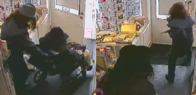 誇張!坐「輪椅」婦人突跳起 持槍搶劫郵局