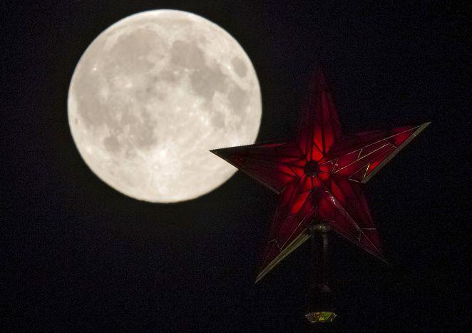 超級月亮!錯過再等9年 中秋大滿月