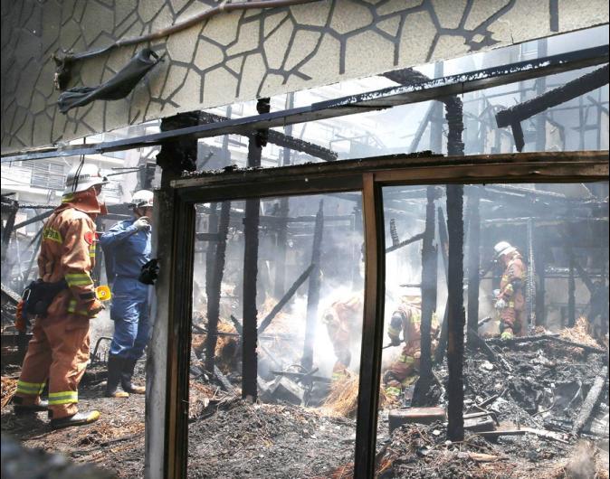 日本木造民宿大火 2棟屋燒毀5死19傷