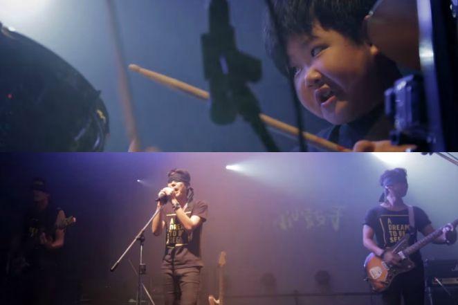 最催淚演唱會!8歲視障小鼓手 圓夢站上舞台
