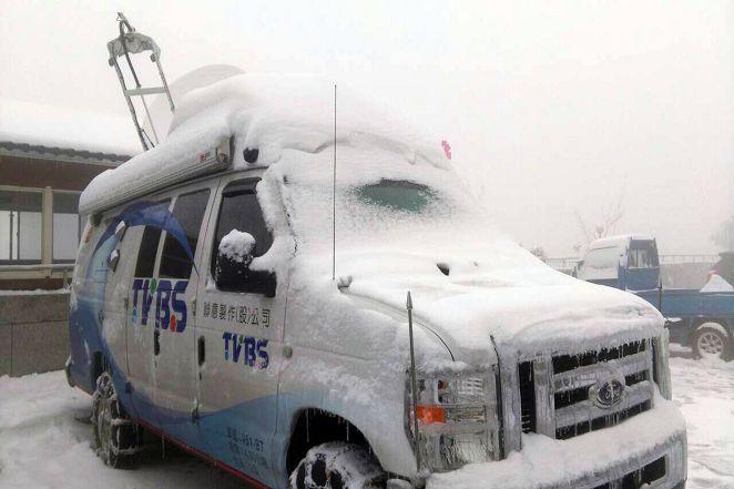 全民追雪 !七百萬民眾觀注 TVBS新聞台周末兩日收視全國第一