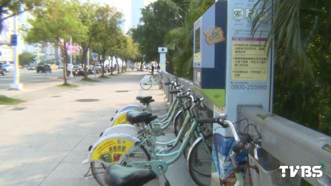 圖/TVBS資料畫面 快訊/高市C-Bike擬調漲 明年1月起每小時5元