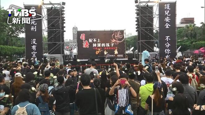 快訊/為小燈泡討公道 白玫瑰遊行:反廢死