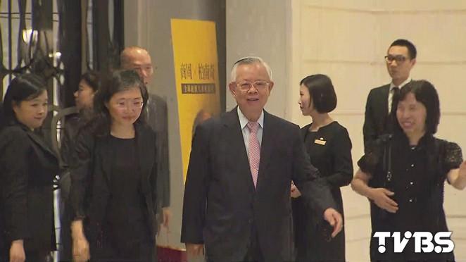 雙南會!柏南克首度訪台 央行彭總裁現身
