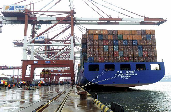 FOCUS/大陸進出口雙負成長 港口景況寫實