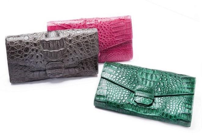 aBoutmi鱷魚皮包款貴氣時尚 演繹奢華細膩作工