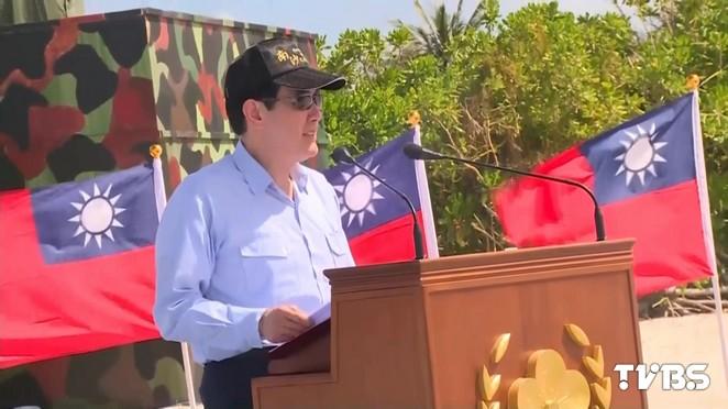 趙天麟譴責總統登島 民進黨:蔡說的才算數