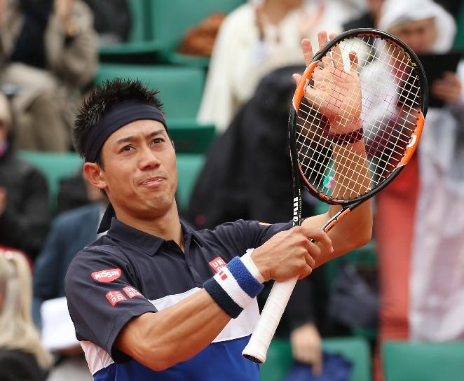 日本80年來首位 錦織圭闖進法網8強
