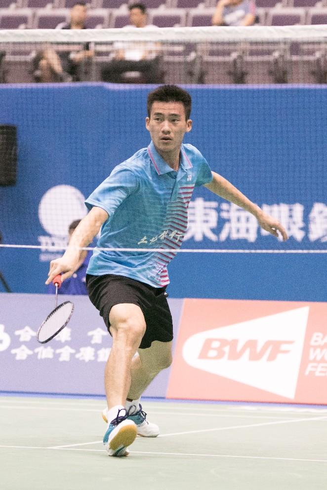 台北羽球公開賽/走秀又打球「男模球員」程柏偉闖會內賽