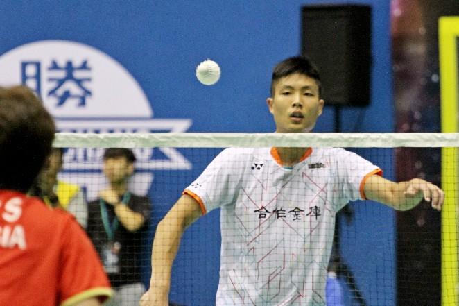 台北羽球公開賽/不想再一輪輸 周天成拚了