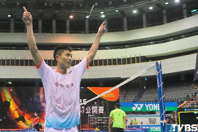 台北羽球公開賽/台灣第一人 小天拍下奧運金牌林丹