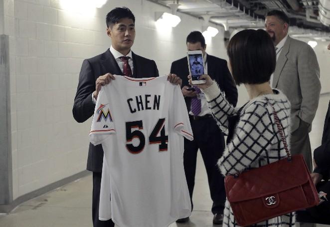 MLB/邦茲當打教 陳偉殷笑說要打全壘打