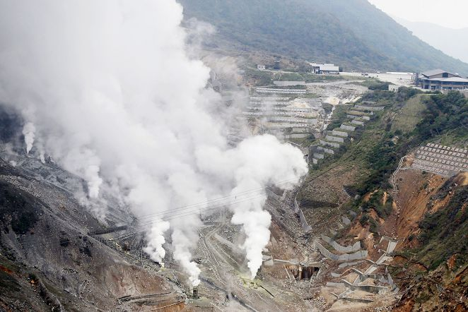 FOCUS新聞/箱根山大涌谷 火山小規模噴發限行